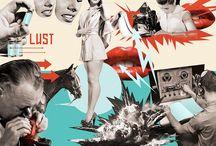 Mixed Media Collage / by Jessica Castillo