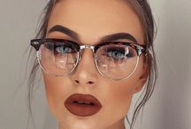 Makeup ideas for glasses