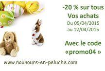 promotion nounours en peluche / retrouvez toutes les promos de notre site www.nounours-en-peluche sur ce tableau