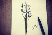 Poseidon tatoo