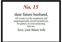 future husband notes