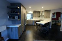 97 - Santa Ana - Modern Kitchen Remodel / Modern style Kitchen Remodel with Sophia Line cabinets in Santa Ana Orange County