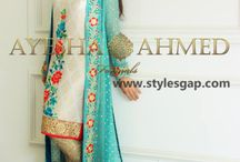 Ayesha Ahmed Collection 2016