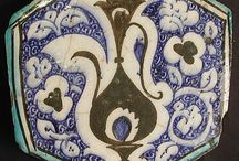 Hexagonal Tile, first half of 15th century, Syria.