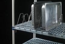 MetroMax iQ/Platform Storage System / Interchangeable Accessories for MetroMax i, MetroMax 4 and MetroMax Q Polymer Shelving Systems.