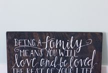 Quotes - family / by Natalie Eichenberg Cybyk
