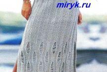 спицы платья