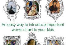 Early Homeschool Art