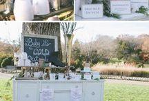 Winter Wedding Wonderland / Winter wedding inspiration and ideas