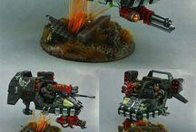Miniatures / Warhammer & WH40k