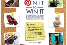 Pin It to Win It / by Relax The Back