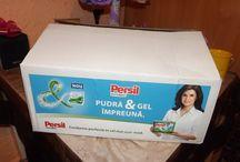 Campania de testare #Persil Power mix / Testarea noului detergent #Persil Power mix pudra si gel