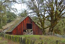 Barns and Barn Quilts / Beautiful Buildings All / by Ann Russell