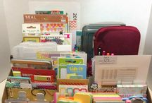 Fun Stationery / Everything in it's place!