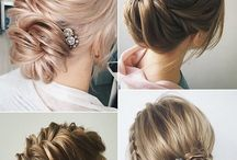 Hair for Berta's wedding