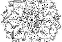 Coloring Sheets & Doodles