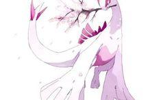 ピンク色のルギア