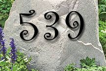House Numbers / Letters