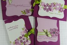 hand stamped greeting cards / by Marilyn Archuleta