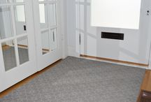 Front Entrance Inspiration / Simple, sophisticated and practical entry area rug