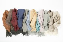 Alpaca Scarves / Extra fine and soft baby alpaca scarves