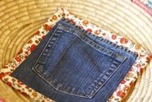 идеи из старых джинс