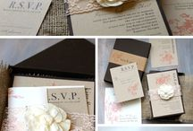 Invitations for Weddings / Ideas for Weddings and Events