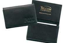 Leather classic business gifts / One of the classic client gifts, these leather cases are beautiful, tasteful, and useful mementos.