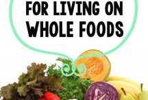 Whole Food Foods / We're taking it back to nature a bit more on this one. Fruits and veges, nuts, grains, raw or simply cooked, no rich sauces or sweet fillings. Let's see how we go