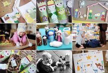 home ed: Nativity + Christmas / Advent and nativity themed home education activities/projects.