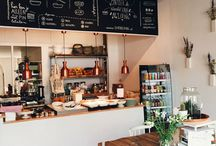 Femkeido ♡ Lunchrooms / Inspiring interior design of lunchrooms all over the world
