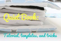 Quiet Book Instructions / Getting started instructions - includes sizes of pages as well as equipment required.