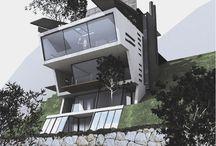 styling: architectuur, Jean-Marc Bonfils