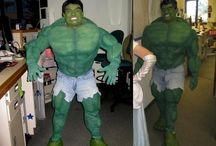 hulk costume / Hand made hulk costume.