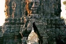 A place to be / lovely mountains , amazing waterfalls , temples in Cambodgia.. in a word , the beauty of the nature :)