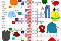 English - clothes