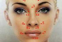 Точки для лица