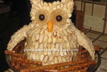 owl cake / by Denise Grise