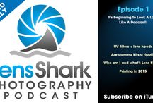 Lens Shark Photography Podcast episodes / Do you like photography podcasts?  If you haven't heard one yet...give mine a listen and see.  I know you'll enjoy it.  Click one of the graphics or head to LensShark.com