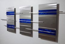 Momentum Abstract Metal Wall Sculpture / Visit www.abstractmetaldesign.com for more art from Dustin Miller