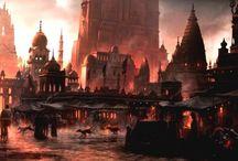 paisagens medievais