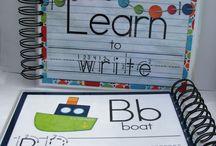 Learn to write, kids education guides / Preschool, education, learning to write, alphabet, abc, homeschooling, educare, activity, printables, worksheet