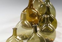 Blown glass bottles