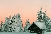 I love snow♡♥♡♥♡♥