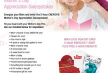 """5-hour ENERGY® Mother's Day Appreciation"" / Mother's Day Appreciation"