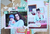 My Scrapbooking Gallery / My pages, post Two Peas / by Shimelle Laine