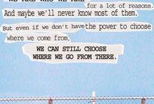 Noi siamo infinito. / Libri e film
