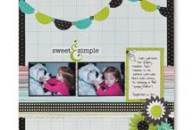 Scrapbooking Layouts for Baby pictures
