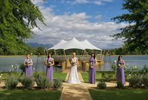 Wedding tents / A stretch tents is the perfect tent for a wedding reception, creating the desired ambiance and magic for this romantic event.