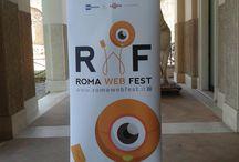 Conferenza stampa  - 24 settembre '13 - Roma Web Fest #rwf13 / Conferenza stampa di presentazione del Roma Web Fest, che prenderà il via venerdì 27 settembre presso il Teatro Golden, a Roma. Numerosi gli eventi e i premi di questo evento, unico del suo genere in Italia. Per info e accrediti: www.romawebfest.it